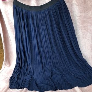 Pleated length Skirt